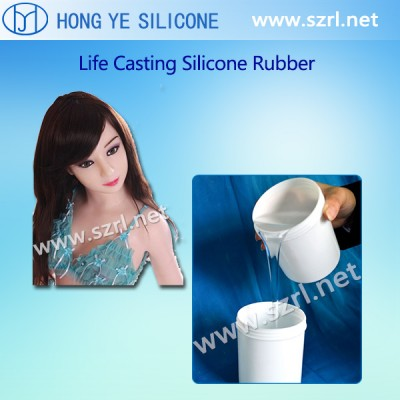 Skin Tone Liquid Silicone Rubber for male Love Dolls realdoll